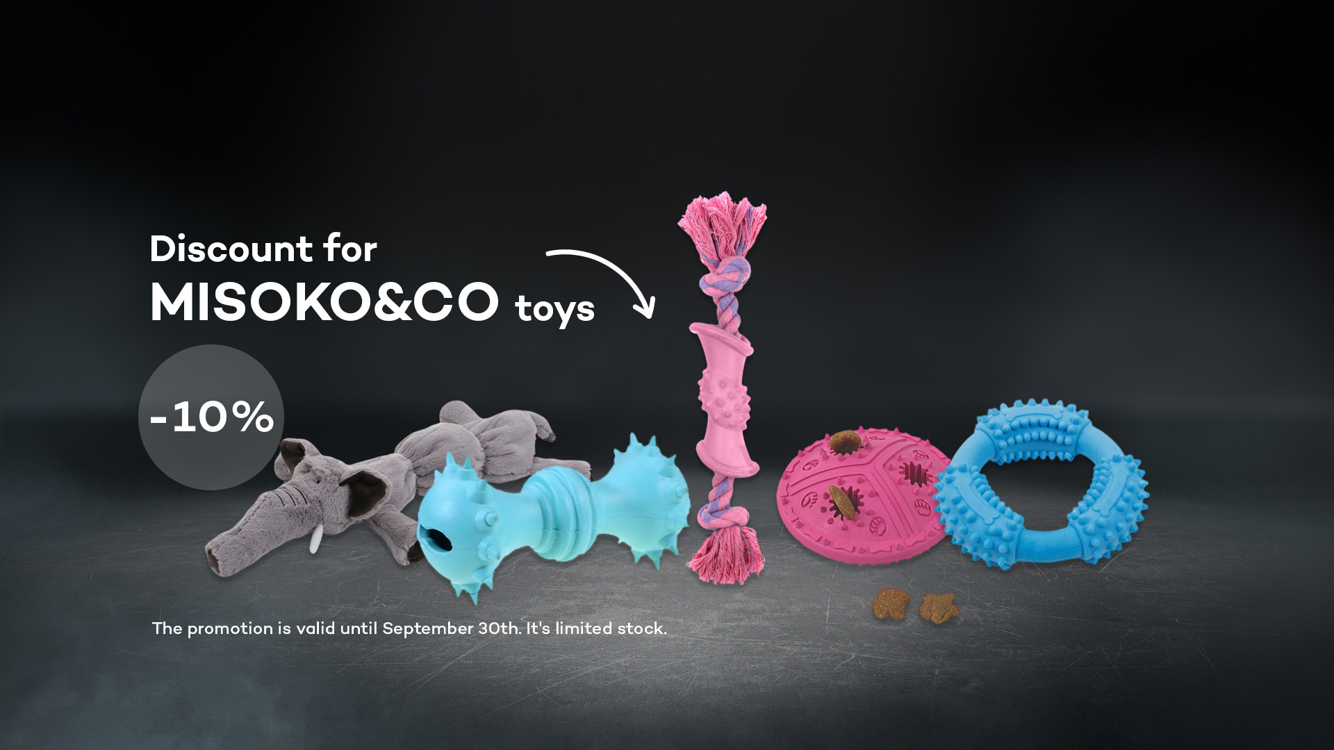 10% discount for MISOKO&CO toys