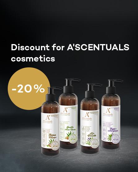 20% discount ASCENTUALS Cosmetics