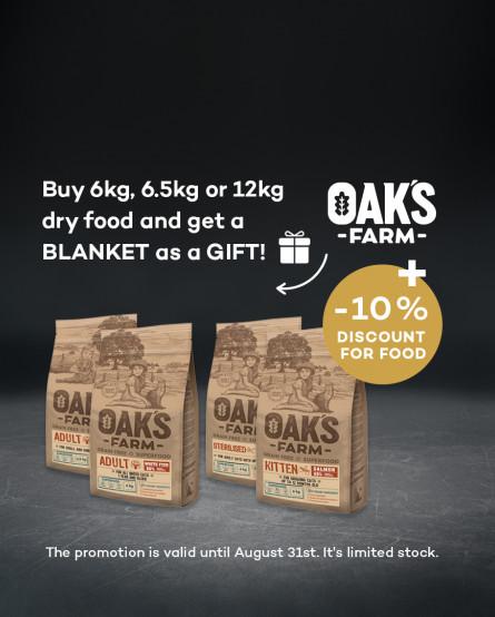 OAK'S FARM  + blanket