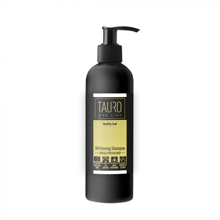 TAURO PRO LINE Healthy Coat Whitening Shampoo for dogs and cats