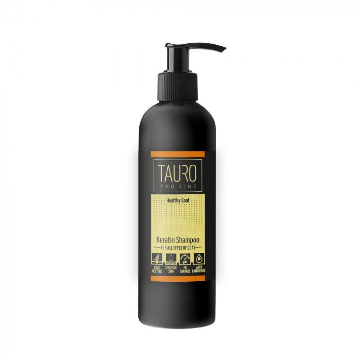 TAURO PRO LINE Healthy Coat KERATIN SHAMPOO for dogs and cats