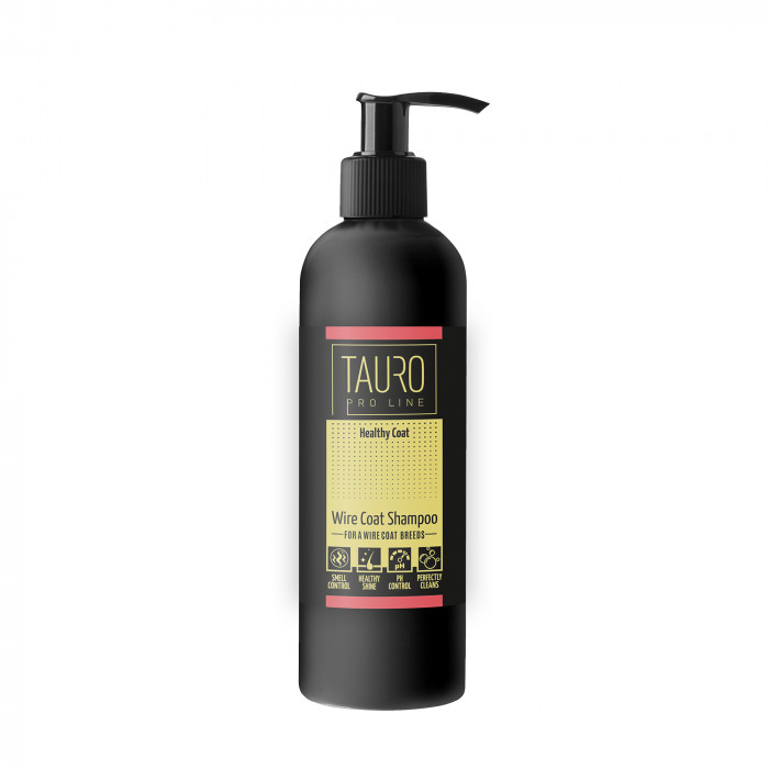 TAURO PRO LINE Healthy Coat wire coat shampoo шампунь для собак и кошек