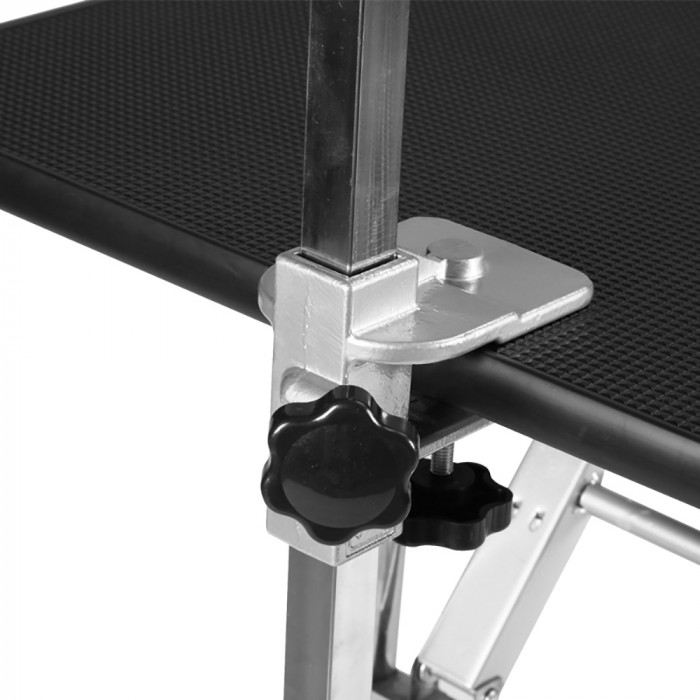 SHERNBAO Folding table with stainless steel legs,