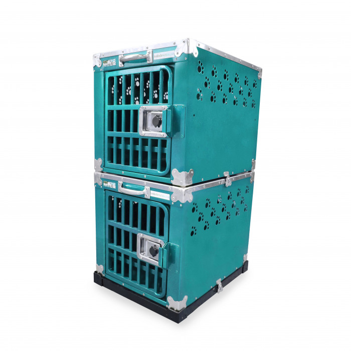 HYDROGROOM 100 Crate, double cage for animals