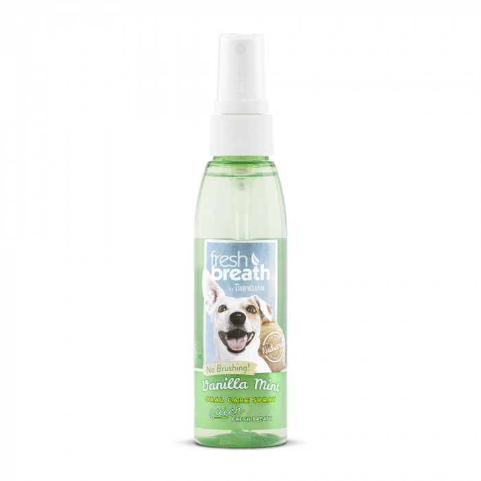 FRESH BREATH Spray for dental care, vanilla scent