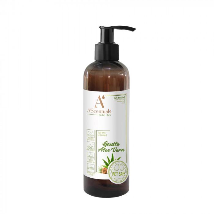 A'SCENTUALS Herbal Care Aloe Vera shampoo