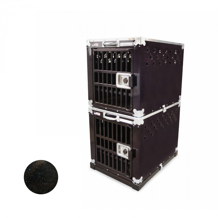 HYDROGROOM 200 Crate, double cage for animals
