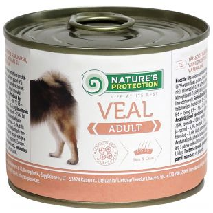 NATURE'S PROTECTION Dog Adult Veal Canned dog food 200 g