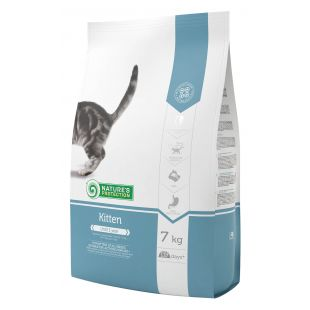 NATURE'S PROTECTION Kitten Up to 1 year Poultry with krill Sausas pašaras katėms 7 kg