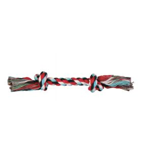 TRIXIE Toy for dogs twisted colored rope 50 g, 20 cm