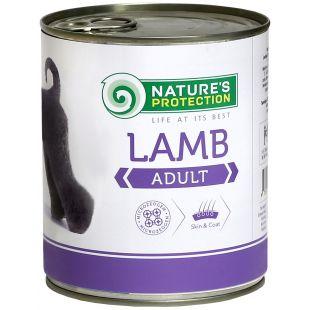NATURE'S PROTECTION Adult Lamb Консервы для взрослых собак 800 г