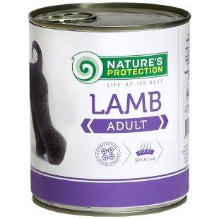 NATURE'S PROTECTION Dog Adult Lamb Canned dog food 800 g