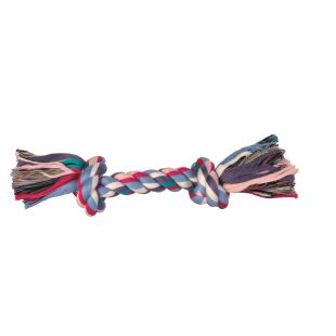 TRIXIE Toy for dogs twisted colored rope 125 g, 26 cm