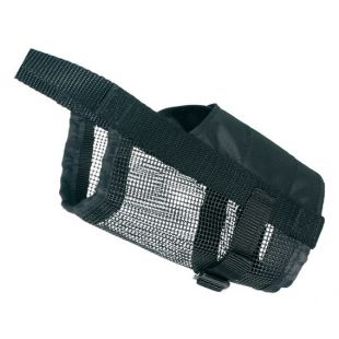 TRIXIE Nylon muzzle with mesh bottom 20-28 cm, M size