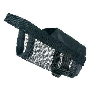 TRIXIE Nylon muzzle with mesh bottom 22-32 cm, L size