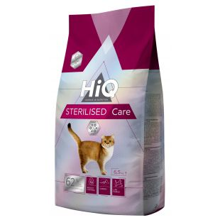 HIQ Sterilized care feed for cats 6.5 kg