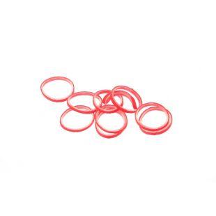 LAINEE Rubber latex 100 pcs raudonos spalvos, 8mm