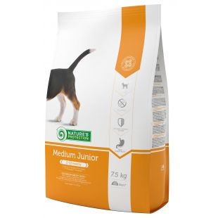 NATURE'S PROTECTION All breeds Junior 2-12 months Poultry dry food for dogs 7.5 kg