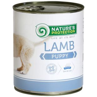 NATURE'S PROTECTION Puppy Lamb Canned dog food 800 g