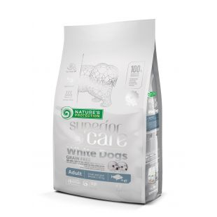 NATURE'S PROTECTION SUPERIOR CARE White Dogs Grain Free White Fish Adult Small and Mini Breeds 1,5 kg
