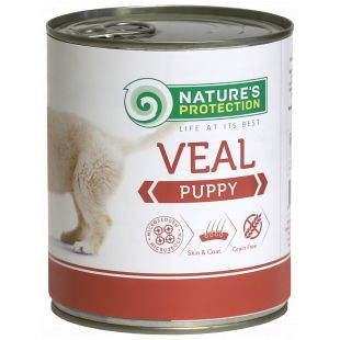 NATURE'S PROTECTION Puppy Veal Canned dog food 800 g