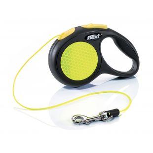 FLEXI New Neon Leash  max 8 kg, 3 m, XS