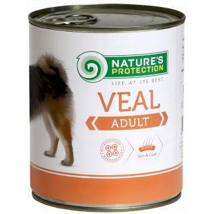 NATURE'S PROTECTION Adult Veal Консервы для взрослых собак 800 г