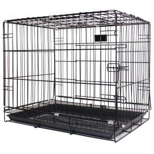 HIPPIE PET Cage for animal, 107x59x79 cm, black