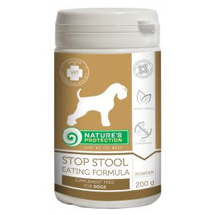 NATURE'S PROTECTION Stop stool eating formula, food supplement for dogs 200 g