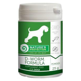 NATURE'S PROTECTION D-worm Formula Pašaro papildas šunims 25 g