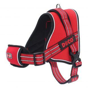 DOCO VERTEX braces red L size