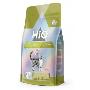 HIQ Kitten & Mother Care food for cats 1.8 kg