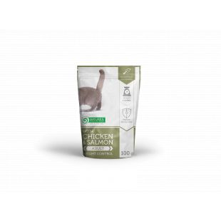 NATURE'S PROTECTION Weight Control Adult cat With chicken and salmon, canned food for adult cat, in a pouch 100 g