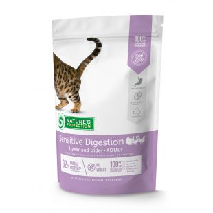 NATURE'S PROTECTION Sensitive Digestion Adult 1 year and older Poultry Sausas pašaras katėms 400 g