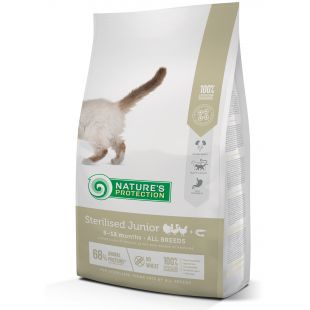 NATURE'S PROTECTION Sterilized Junior 6-12 months Poultry with krill Dry cat food 2 kg