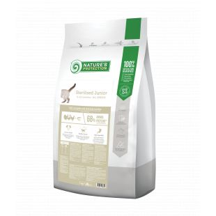 NATURE'S PROTECTION Sterilized Junior 6-12 months Poultry with krill Dry cat food 7 kg