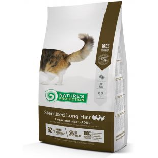 NATURE'S PROTECTION Sterilized Longhair Adult 1 year and older Poultry Dry food for cats 2 kg