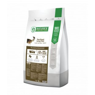 NATURE'S PROTECTION Sterilized Longhair Adult 1 year and older Poultry Dry food for cats 7 kg