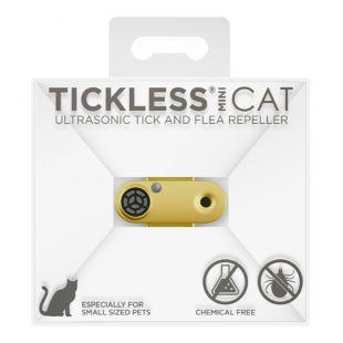 TICKLESS TickLess CAT ultrasonic tick and flea repeller  gold