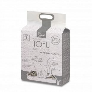VELVET PAW Tofu cat litter, 2mm kibbles, vacuum package With Bamboo charcoal