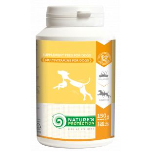 NATURE'S PROTECTION Multivitamins, supplement for dogs, 150 g