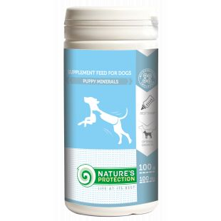 NATURE'S PROTECTION Puppy minerals, supplement for dogs, 100 g