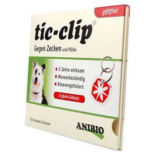 ANIBIO Tic-clip natural insect repellent collar tag 1 pcs