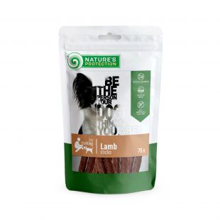 NATURE'S PROTECTION snacks for dogs, lamb sticks 75 g x 6
