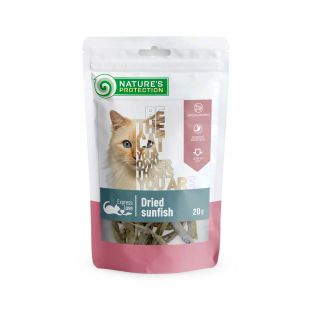 NATURE'S PROTECTION snacks for cats, dried sunfish 20 g x 6