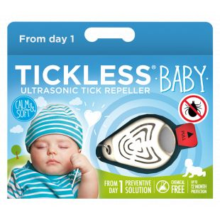 TICKLESS Ultrasonic tick and flea repeller Tickless Baby beige