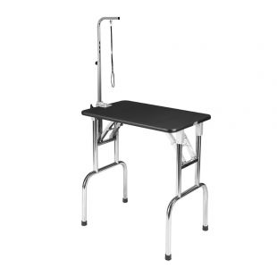 SHERNBAO Folding table with stainless steel legs,  S