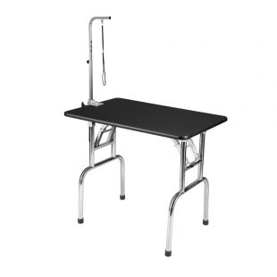 SHERNBAO Folding table with stainless steel legs,  M