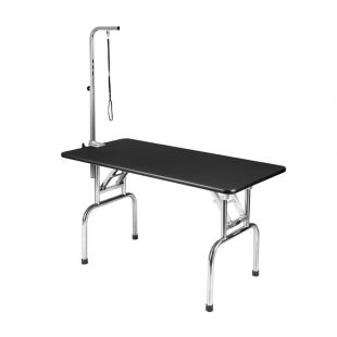 SHERNBAO Folding table with stainless steel legs,  L