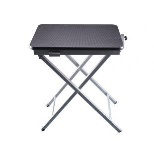 SHERNBAO X-shaped table,  Black